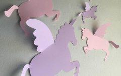 3D Unicorn Wall Art