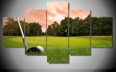Golf Canvas Wall Art