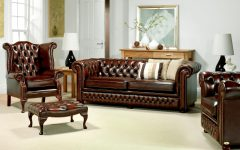 Chesterfield Sofa and Chairs