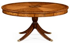 Jazmin Pedestal Dining Tables