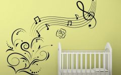 Music Note Art for Walls