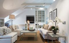 Artistic Attic Living Room Remodel and Decor