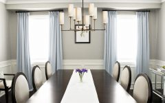 Artistic Dining Room Lighting