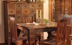 Asian Dining Room With Eclectic Craftsman Furniture