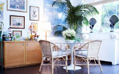 Bamboo Table and Chairs Furniture for Dining Room