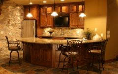 Basement Design Ideas to Traditional Kitchen