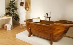 Bathroom Wood House Interior