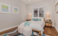 Beachy Bedroom in Contemporary Cozy Style