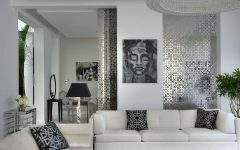 Beautiful Modern Japanese Living Room in Black White