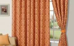 Beauty Curtains Floral Texture