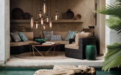 Beauty Lighting for Contemporary Outdoor Lounge