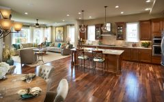 Beauty Open Space Kitchen Design 2015