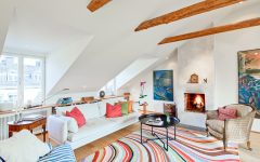 Best Attic Living Room Design Cozy and Colorful