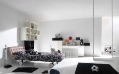 Black White Kid Bedroom Theme Ideas