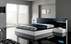 Black White Modern Bedroom Ideas 2014