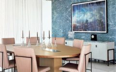 Blue Charming Small Dining Room Design Ideas