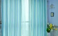 Blue Curtain Pattern