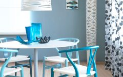 Blue Dining Room Paint Color Ideas