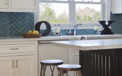 Brentwood Kitchen With Coastal Flair