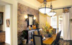 Bricks Dining Room Design