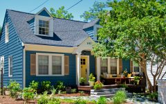 Bright Blue Cape Cod Home Has Curb Appeal