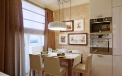 Brown Charming Small Dining Room Design Ideas