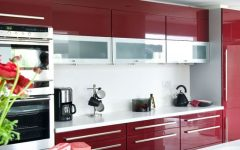 Burgundy Color Scheme Kitchen 2013