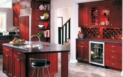 Burgundy Kitchen Ideas 2013
