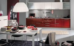Burgundy Kitchen Interior Ideas