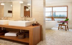 Casual Bathroom Remodel Modern