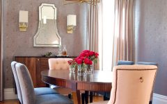 Classic Dining Room With Cozy Chairs