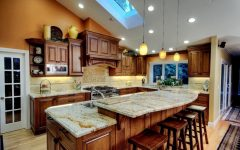 Classic European Kitchen with Wooden Cabinet