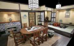 Classic Japanese Dining Room Furniture Ideas