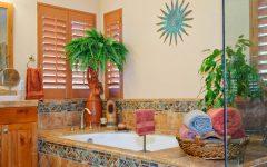 Classic Style Tropical Bathroom Design Ideas