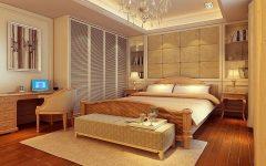Classical American Bedroom Interior Luxury Nuance