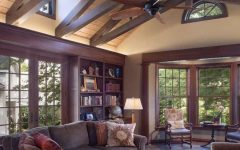 Clerestory Windows for Country Living Room Interior