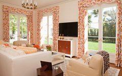 Colorful Living Room Furniture Design