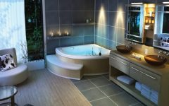 Contemporary Bathroom Ideas for Large Interior