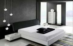 Contemporary Black White Bedroom Design Ideas