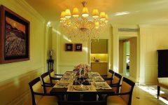 Contemporary Chandelier for Best European Dining Room