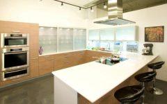 Contemporary European Kitchen Interior Layout