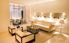 Contemporary Indian Living Room Interior Elegant Ceiling