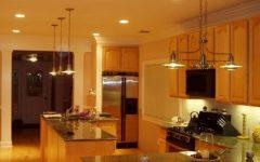 Contemporary Kitchen Design in Basement