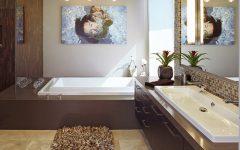 Contemporary Stylish Bathroom Wall Decoration Ideas