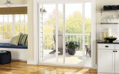 Cozy White Glass Door
