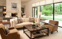 Cozy and Comfortable American Living Room Interior