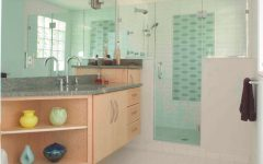 Cozy and Fresh Bathroom Shower Design