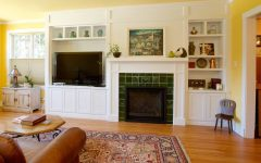 Craftsman Style Living Room Remodel With Custom Cabinetry
