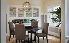 Craftsman Lighting for Dining Room With Round Table