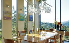 Crystal Dining Room Chandelier Ideas